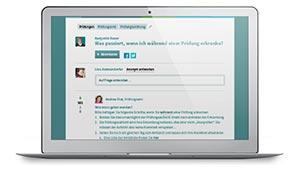 Screenshot Wissensportal