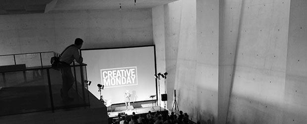 Willkommen Leinwand Creative Monday