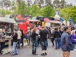 Food-Trucks bei RIBE
