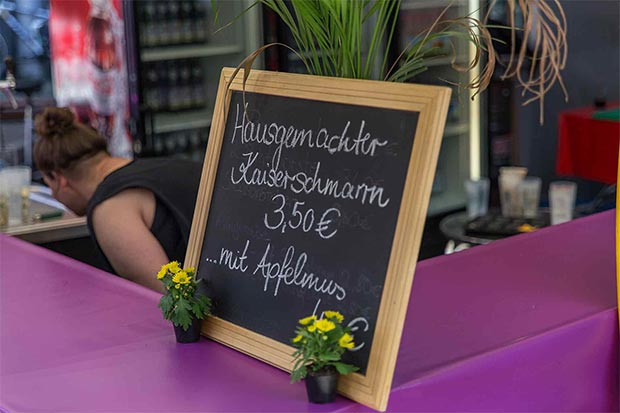 Verkaufsschidl Kaiserschmarrn