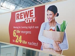 REWE Werbeplakat