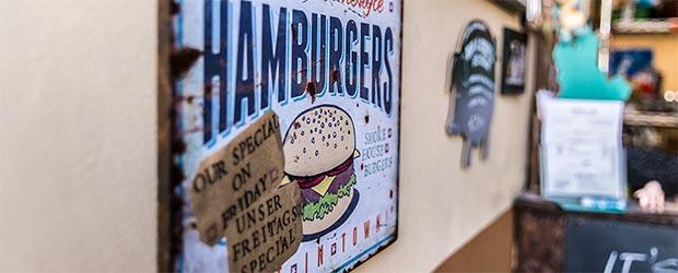 Hamburger bei Boogie BBQ