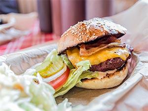 Top-Burger von Boogies