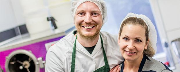 Michael und Katrin von Eis im Glück