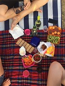 Picknickerdecke