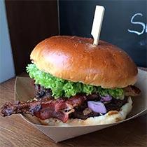 Burger von Grillin me softly