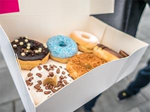 Donuts von der Donutfactory