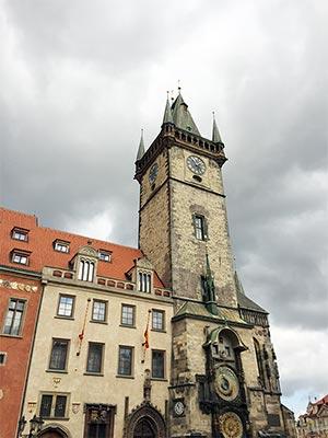 Prager Rathaus Uhr