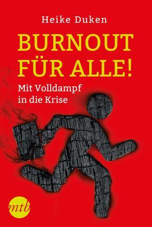 """Buchcover """"Anleitung zum Burnout"""""""