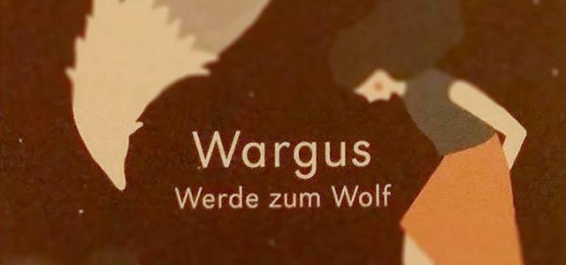 """Buch """"Wargus, Werde zum Wolf"""""""
