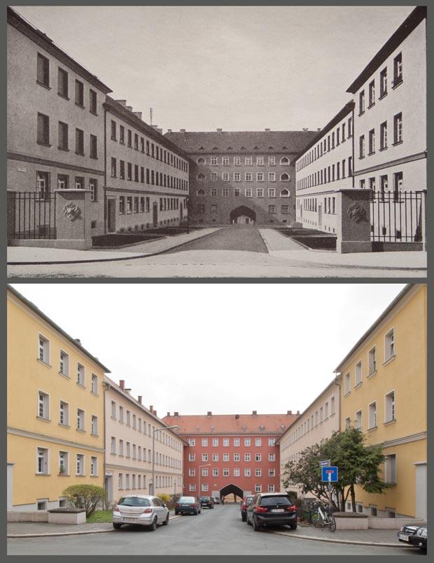 Der Helenenhof, 1927 und 2016