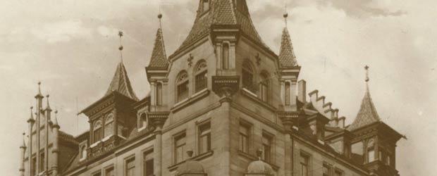 Das ehemalige Hotel Maximilian