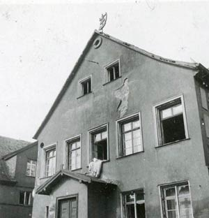 Taubengasse 2 – ein typisches Vorstadthaus, aufgenommen vor 1943.