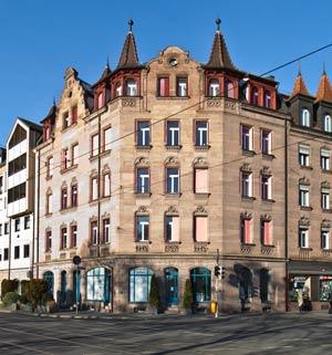 Das straßenbildprägende Haus Johannisstraße 68, 2016.