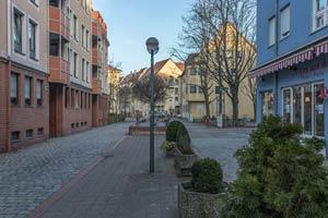 Blick in die Schützenstraße nach Osten zur Grenzstraße, 2017.