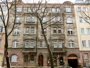 Die Jugendstilfassade der Stephanstraße 12 in der Frontalen, 2012.
