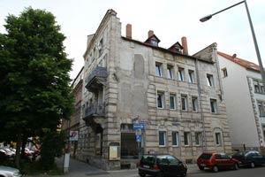 Vom Krieg gezeichnet: Das Haus Martin-Richter-Straße 26
