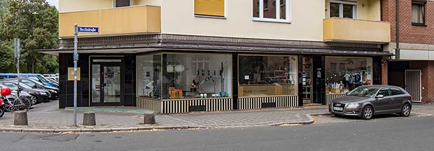 Ein seltener Schatz: Der Ladeneinbau des Hauses Bleichstraße 2 ist ein seltenes und besonders reizvolles Beispiel der Baukunst des Wiederaufbaus.