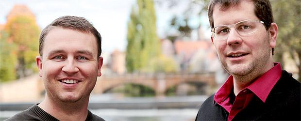 Portrait von Daniel Bendl und Markus Wolf
