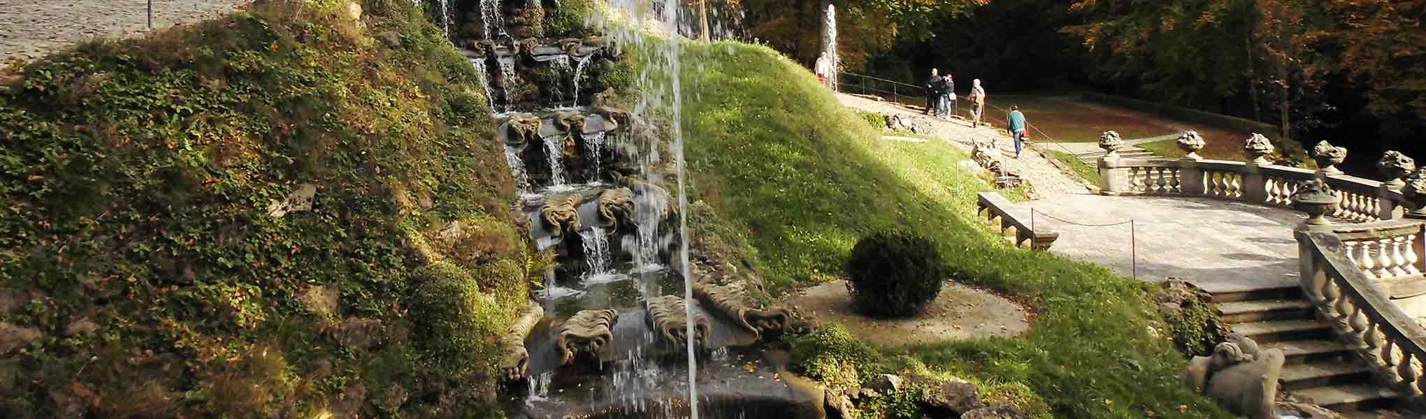 Schlosspark von Schloss Fantaisie in Eckersdorf-Donndorf