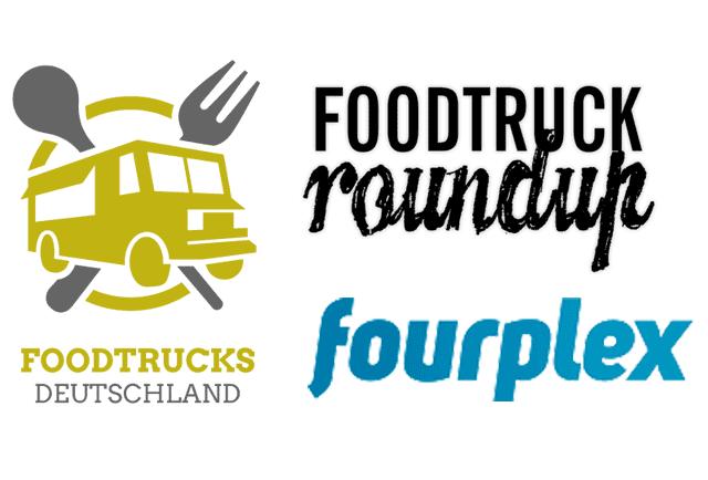 Logos Foodtrucks Deutschland, Foodtruck RoundUp und fourplex