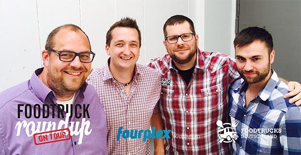 Team von Fourplex und Foodtrucks Deutschland