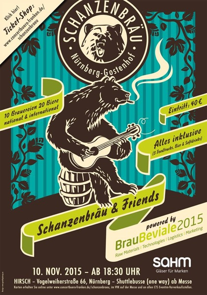 Flyer zur Aftershow.