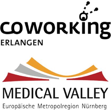 Logo Coworking Erlangen und Medical Valley