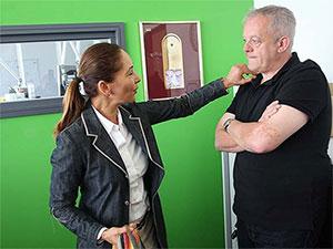 Martina Hunger und Gerald Kappler