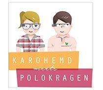 Logo Karohemd meets Polokragen