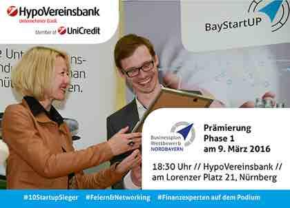 Businessplan Wettbewerb Nordbayern