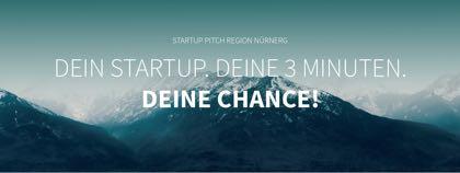 Logo Startup Pitch Region Nürnberg
