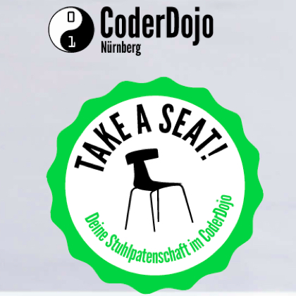 Coder Dojo Stuhlpatenschaft
