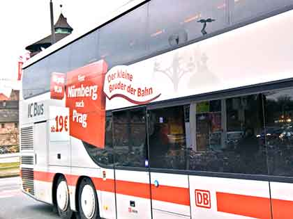 IC-Bus in Nürnberg
