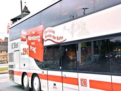 IC-Bus in Nürnberg