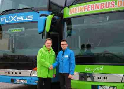 Fusion MeinFernbus und FlixBus