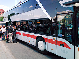 IC-Bus Abfahrtsort Nürnberg