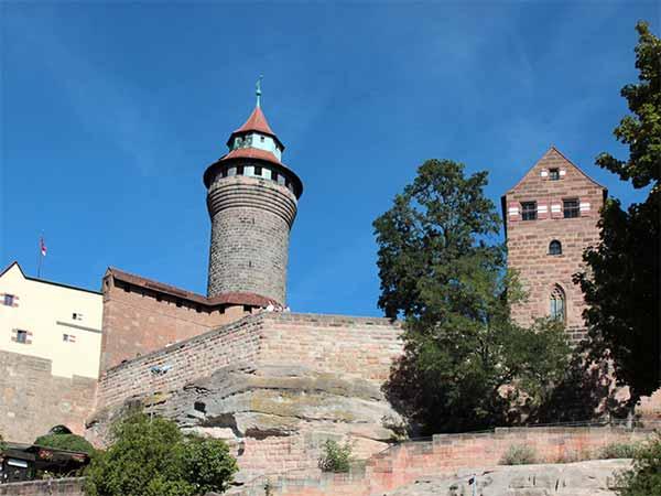 Blick auf die Nürnberger Burg
