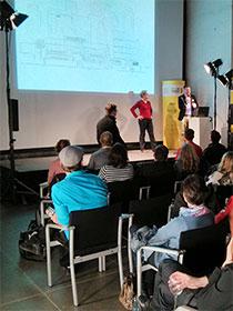 Präsentation auf dem Creative Monday 2013