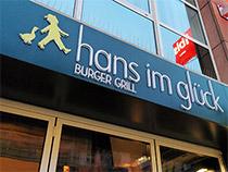 Burger von Hans im Glück
