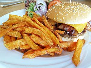 Baconator beim Hoserer-Rolly's American Diner