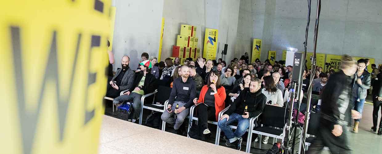 Publikum im Neuen Museum Nürnberg beim Creative Monday