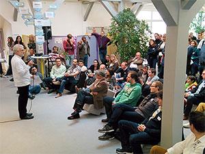 OpenUp Camp Einleitung Unkonferenz