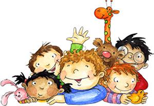 Kindertagespflege aktuell - spielende Kinder