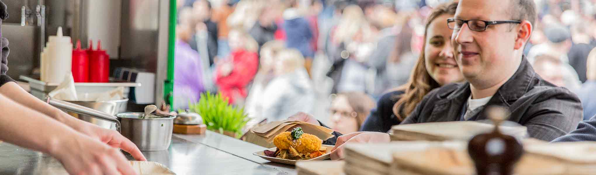 lokal1food.club auf dem 6. Franconian Foodtruck RoundUp