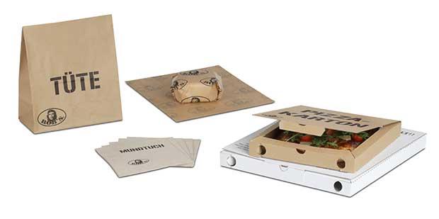 bedruckte Food-Verpackungen